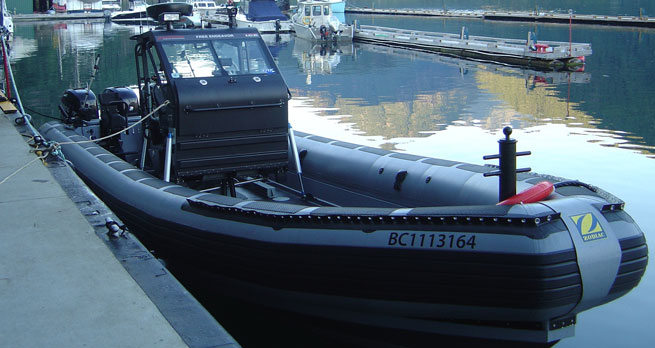 Boat with Shocks